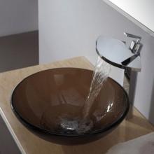 Накладная на столешницу в ванной раковина
